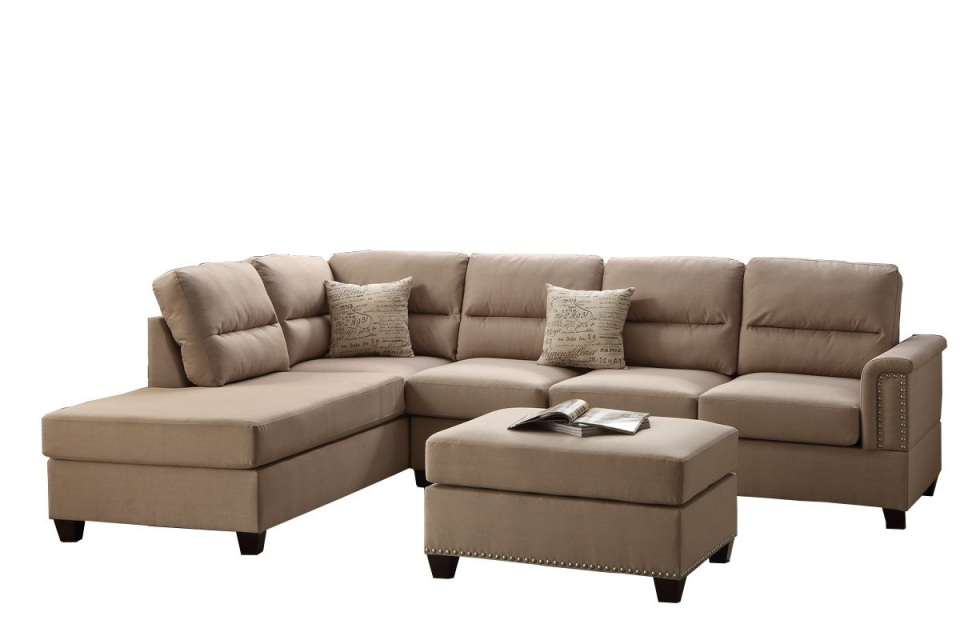 Madison 3pc sectional for 3pc sectional with chaise