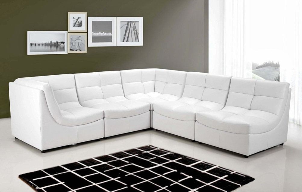 White Cloud Modular Sectional 6 Pc
