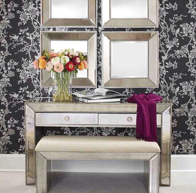 Omni Vanity Console Table